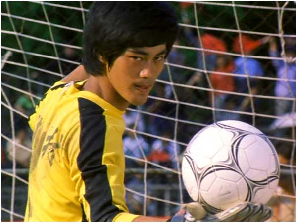 Bruce the Goalie in Shaolin Soccer