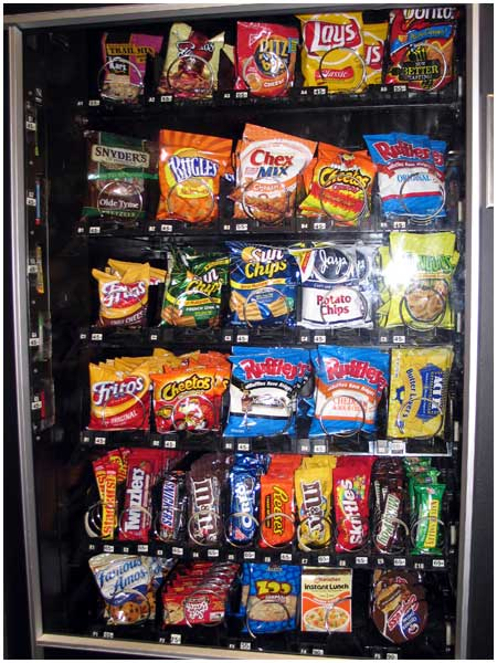 Healthy Foods You Can Put In Vending Machines