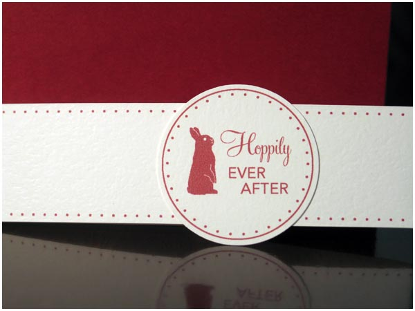 Hoppily Ever After Liz and Felix 39s Handmade Wedding Invitations