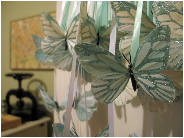 Butterflies for the Wedding It 39s a big wedding weekend apparently
