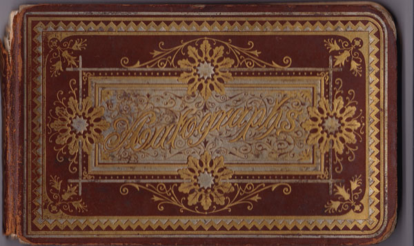 Autograph Book, Cover