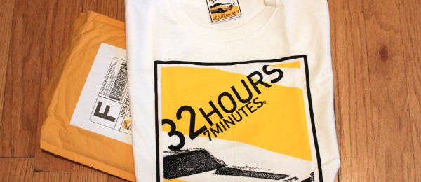 32 Hours, 7 Minutes T-Shirt From Cory