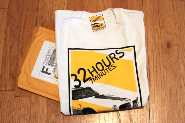 32Hours7MinutesTshirt