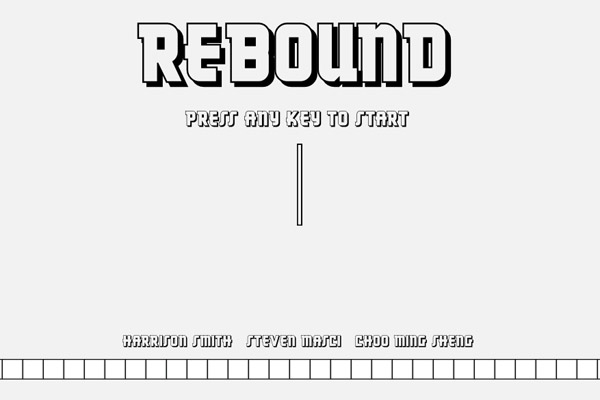 Rebound is a Really Basic Game