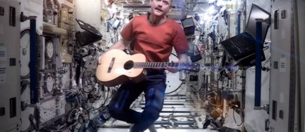David Bowie&#8217;s &#8220;Space Oddity,&#8221; As Performed By Astronaut Chris Hadfield in Space