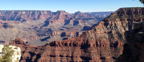 Jung Family Vacation in Arizona, Day 3: Grand Canyon and Acrophobia