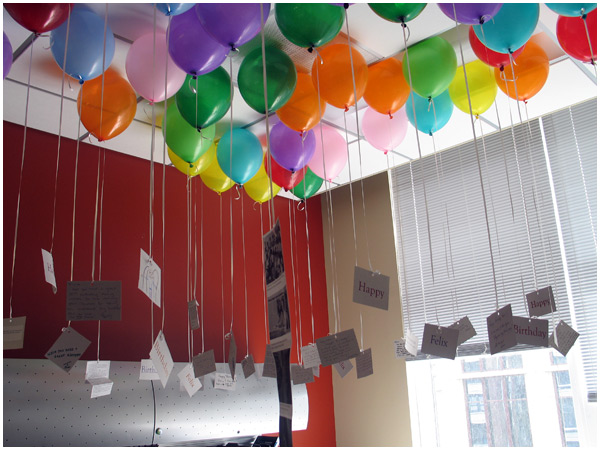 Ten best days of 2009 for B day decoration ideas