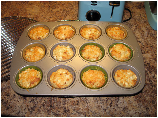And there you have it – Apple, Gruyere and Sage Muffins. And ...