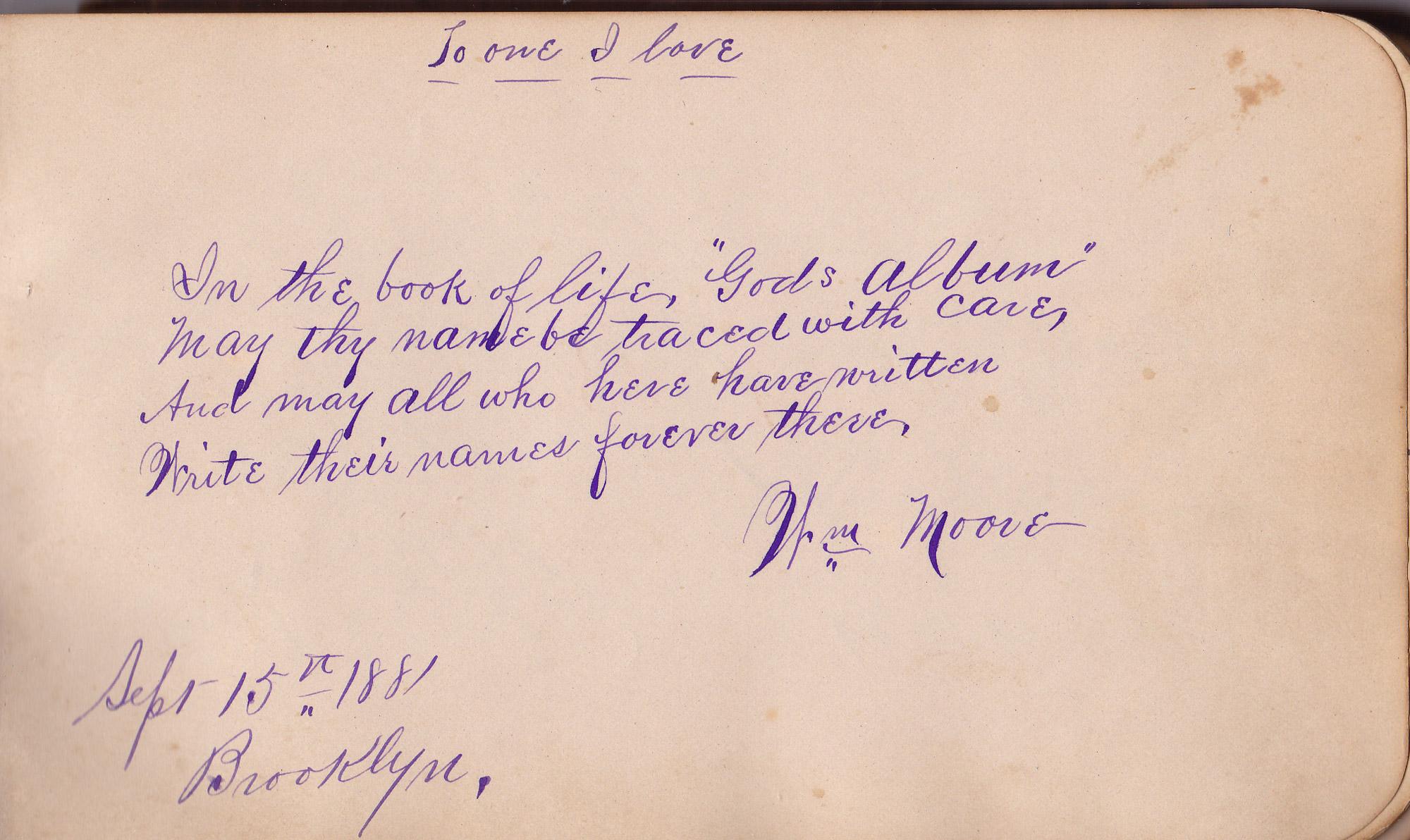 Autograph Book, Page 8 - avoision.com | avoision.com