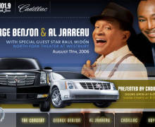 George Benson and Al Jarreau, in Concert