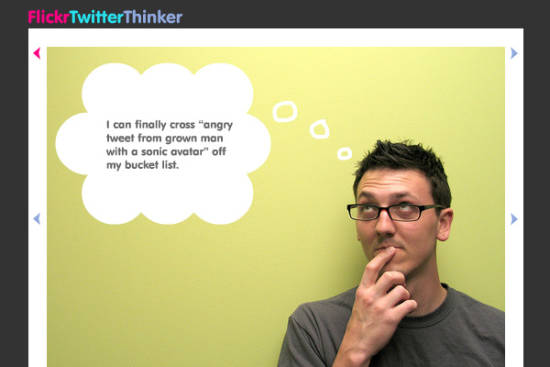 flickrTwitterThinker
