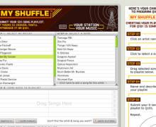 Q101 My Shuffle, Playlist Creator