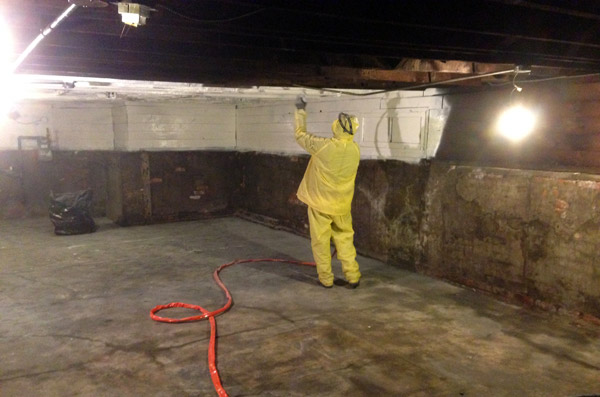 Cleaning the basement part 2 for Basement concrete cleaner