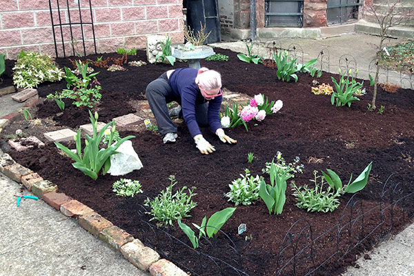 Putting Mulch Down In The Front Yard Avoision Com