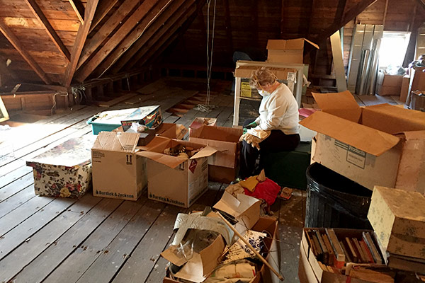 Cleaning The Attic In Frankfort Avoision Com Avoision Com