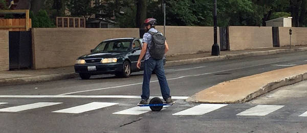 Spotting an Electric Unicycle in the Wild