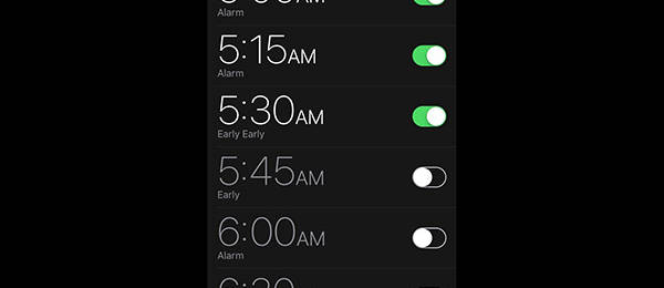 Alarms and Backups