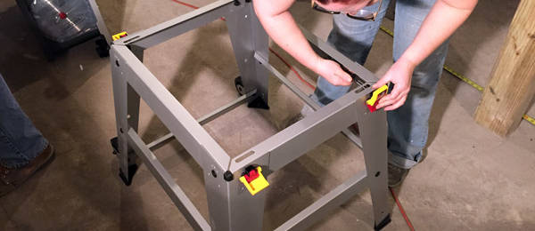 Setting Up a New Craftsman Table Saw