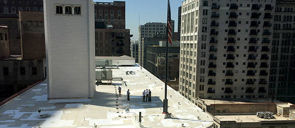 Rooftop Drone Flight