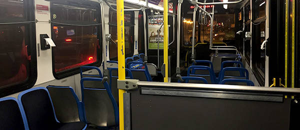 Alone on the Bus