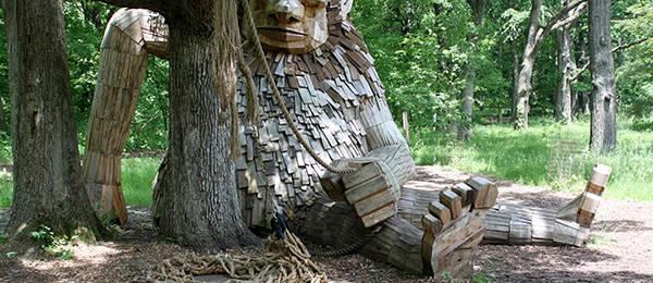 Troll Hunting at the Morton Arboretum
